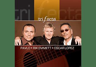 Pavlo, Rik Emmett, Oscar Lopez - Trifecta  - (CD)