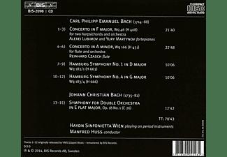 Alexei Lubimov, Yury Martynov, Reinhard Czasch, Haydn Sinfoniette Wien - Carl Philipp Emanuel Bach: Konzerte und Sinfonien  - (CD)