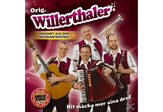 Orig. Willerthaler - Hit mácha mer aina druf  - (CD)