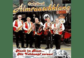 Orig. Almrauschklang - Musik im Bluat.Mit Volldampf voraus!  - (CD)