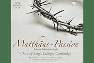 Rogers Covey-crump, Emma Kirkby, Michael Chance, Martyn Hill, David Thomas, King's College Choir, Brandenburg Consort, George Michael - Matthäus-Passion [CD + DVD]