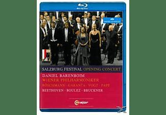 Daniel/wpo Barenboim - Salzburg Festival Opening Concert  - (Blu-ray)