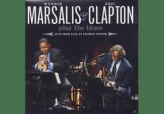 Wynton Marsalis, Eric Clapton - Wynton Marsalis + Eric Clapton - Play The Blues Live  - (CD + DVD Video)