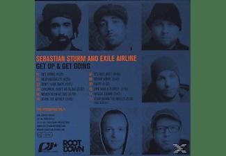 Sebastian Sturm - Get Up & Get Going  - (CD)