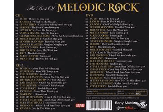 VARIOUS - The best of melodic rock  - (CD + DVD Video)