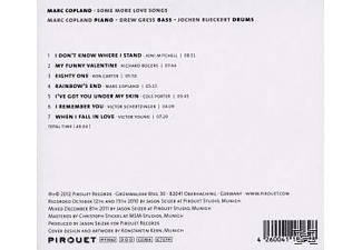 Marc Copland - Some More Love Songs  - (CD)
