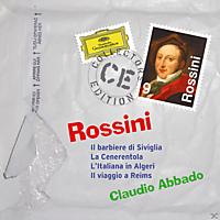 Claudio Abbado, Konzertvereinigung Wiener, Frank Lopardo, Anna Gonda, Staatsopernchor - Barbiere/Cenerentola/Italiana/Reims - [CD]