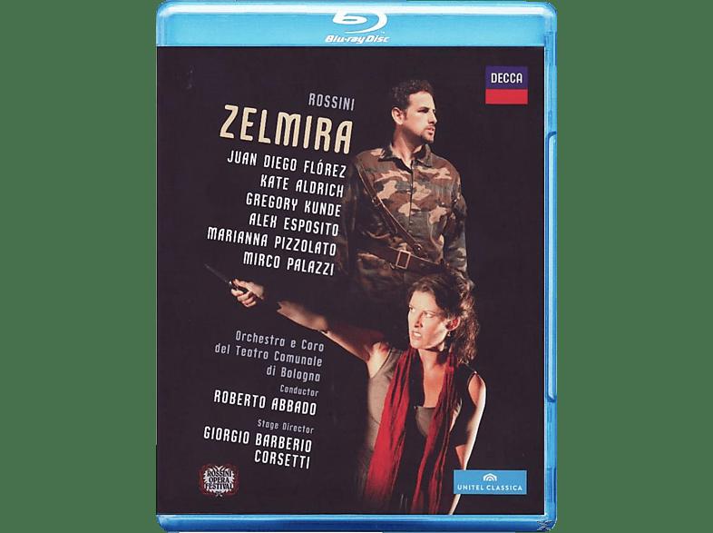 Juan Diego Florez, Alex Esposito, Orchestra E Coro Del Teatro Comunale Di Bologna, Aldrich Kate, Gregory Kunde - Zelmira [Blu-ray]