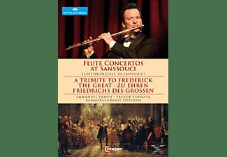 Kammerakademie Potsdam, Emmanuel Pahud - Zu Ehren Friedrichs Des Grossen  - (DVD)