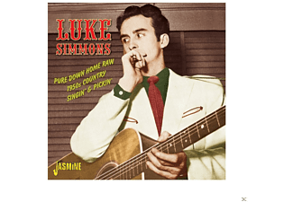 Luke Simmons - PURE DOWN HOME RAW  - (CD)