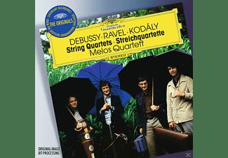Melos Quartett, Wilhelm Melcher, Hermann Voss, Gerhard Voss, Peter Buck - String Quartets  - (CD)