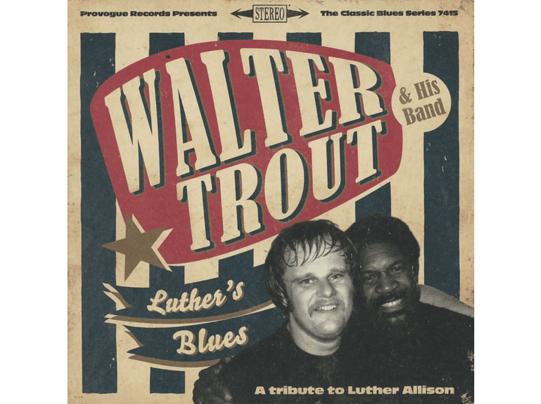 Walter Trout - Luther's Blues / A Tribute To Luther Allison [CD]