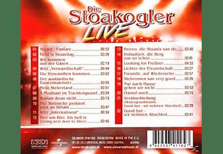 Die Stoakogler - LIVE - DAS SENSATIONELLE ABSCHIEDSKONZERT [CD]
