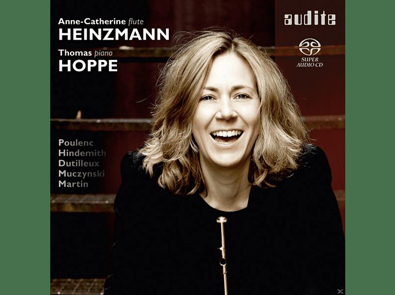 Thomas Hoppe, Anne-catherine Heinzmann - Flute Sonatas [CD]