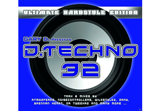 VARIOUS - Gary D. Presents D. Techno 32 - (CD)