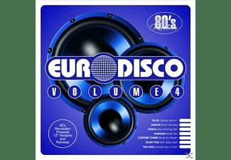 VARIOUS - 80's Revolution Euro-Disco Volume 4  - (CD)