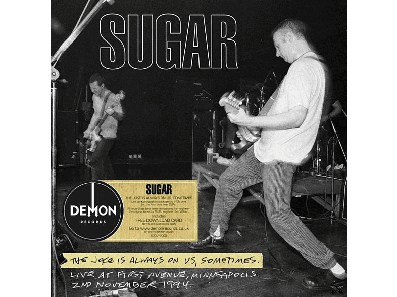 Sugar - THE JOKE IS ALWAYS ON US (+DOWNLOAD) [Vinyl]