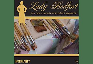 Lady Bedfort - Lady Bedfort 70: Der Mann mit der grünen Trompete  - (CD)