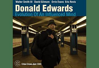 Donald Edwards - Evolution Of An Influenced Mind  - (CD)