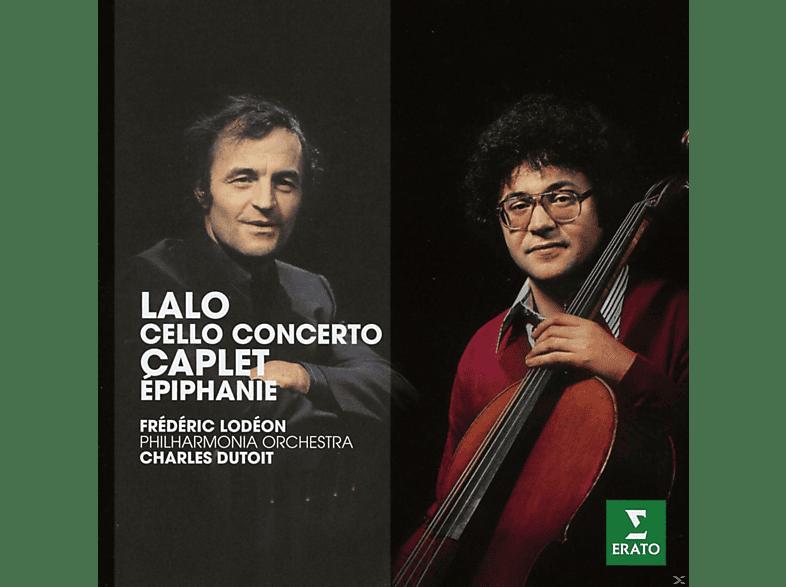 Frederic Lodeon, The Philharmonia Orchestra - Lalo: Cello Concerto / Caplet: Epiphanie Für Cello Und Orchester [CD]