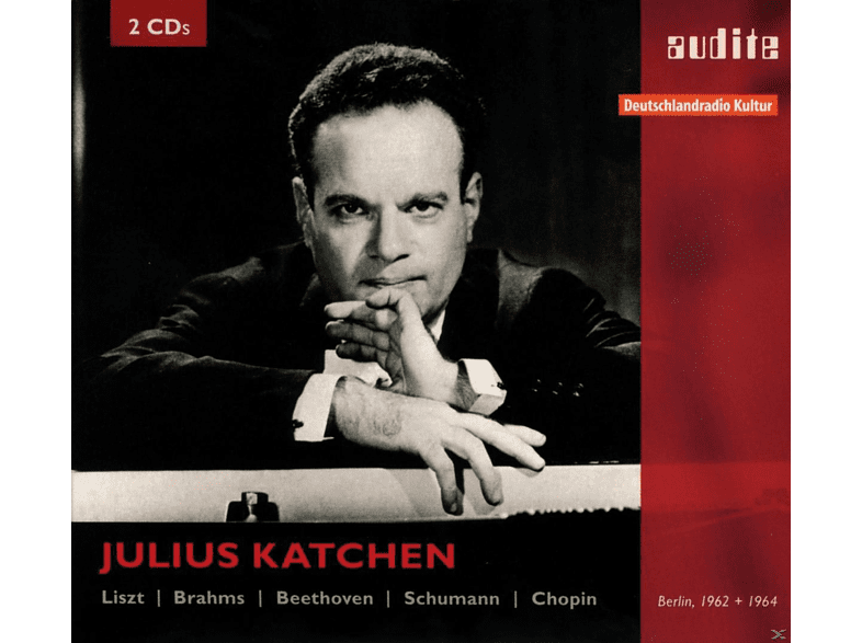 Julius Katchen - Katchen Plays Liszt, Brahms, Beethoven, Schumann/ + [CD]
