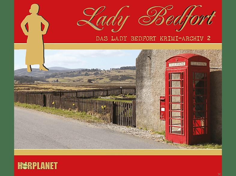 Lady Bedfort - Das Lady Bedfort Krimi-Archiv 2 - (CD)