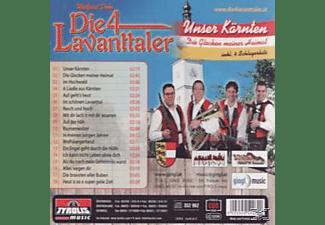 Walfried Dohr, Die 4 Lavantaler - Unser Kärnten  - (CD)