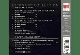 Bso, G. Herbig, P. Rösel - Klavierkonz.HOB.XVIII,11/HOB.X  - (CD)
