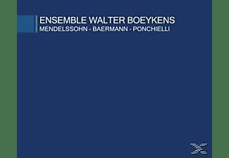 Ensemble Walter Boeykens, Boeykens,Walter Ensemble & Boeykens,Anne - Mendelssohn-Bärmann-Ponchielli  - (CD)