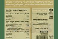 Melring Quartett, Mandelring Quartett - Streichquartette 1,2,4 [SACD Hybrid]