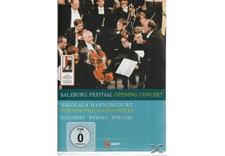 Nikolaus & Wiener Philharmoniker Harnoncourt, Harnoncourt/WPO - Salzburg Festival Opening Concert  - (DVD)