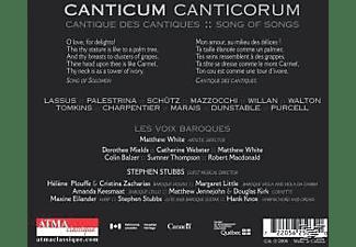 Les Voix Baroques, White/Les Voix Baroques - Canticum Canticorum  - (CD)