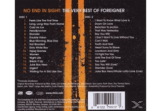 Foreigner - No End In Sight-Very Best Of [CD]
