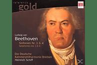 Heinrich Schiff, Heinrich/dkp Schiff - Sinfonien 1 & 4 [CD]