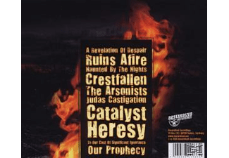 Versus The Throne - Ruins Afire  - (CD)