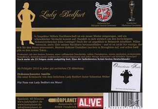 Lady Bedfort - Der Seltsame Mieter (30)  - (CD)
