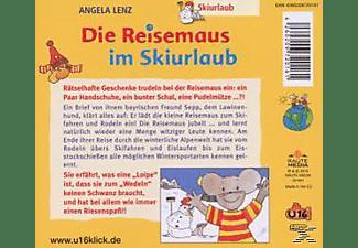 Angela Lenz - Die Reisemaus Im Skiurlaub  - (CD)