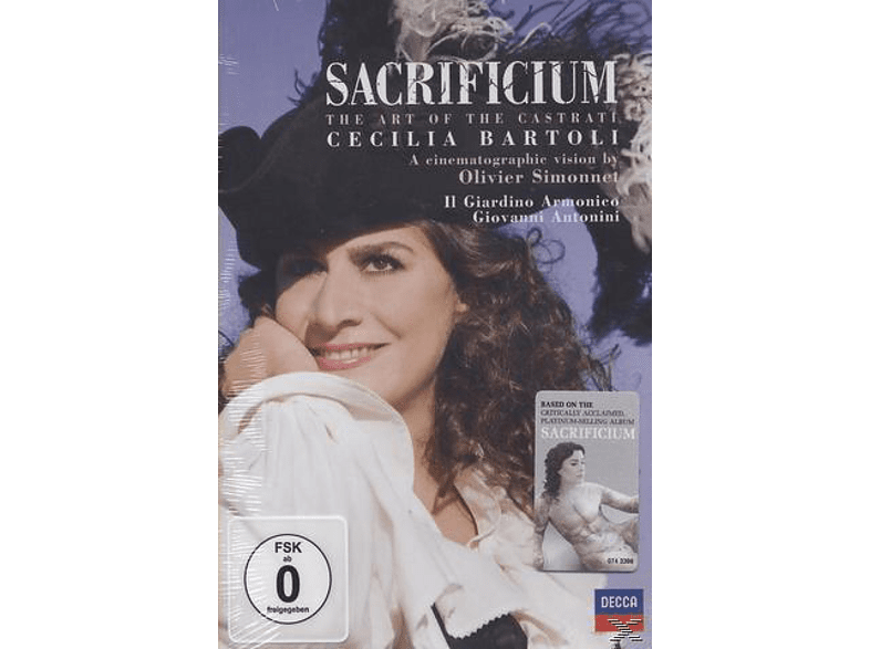 Cecilia Bartoli, Il Giardino Armonico - Sacrificium - The Art Of The Castrati [DVD]