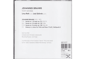 Linus Roth, Jose Gallardo - Sonatas For Violin & Piano  - (CD)