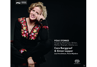 Cora Burggraaf, Simon Lepper - Folk Stories-Songs By Beethoven  - (SACD Hybrid)
