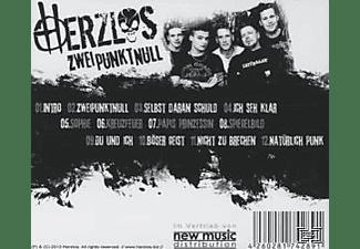 Herzlos - Zweipunktnull  - (CD)