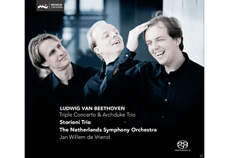 "Storioni Trio, Netherlands Symphony Orchestra - Trippelkonzert + Trio op.97 ""Archduke "" - (SACD Hybrid)"