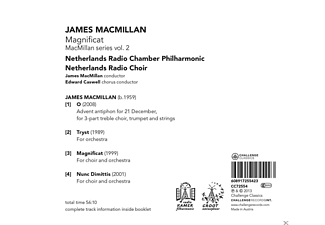 Netherlands Radio Chamber Philharmonic, Netherlands Radio Choir - Magnificat  - (CD)