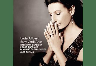 Lucia Aliberti, Oleg Caetani, Orchestra Sinfonica Di Milano Giuseppe Verdi - Frühe Verdi Arien  - (CD)