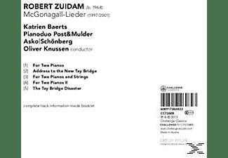 Katrien/pianoduo Post & Mulder/asko|schonb Baerts - McGonagall-Lieder  - (CD)