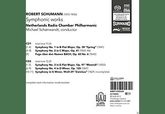 Netherlands Radio Chamber Philharmonic, Michael Schonwandt - Symphonic Works  - (CD)