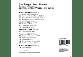 Johannes Martin Kränzle, Hilko Dumno - Grenzen Der Menschheit  - (CD + Buch)