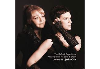 Jelena Ocic, Ljerka Očić - The BaRock Experience-Sonatas for cello and orga  - (CD)