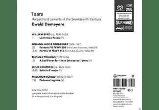 Ewald Demeyere - Tears - Harpsichord Laments From The 17th-Century  - (CD)