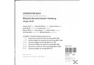 Elbipolis Barockorchester Hamburg - Undercover Bach - Orchestral Suites And Concertos  - (CD)